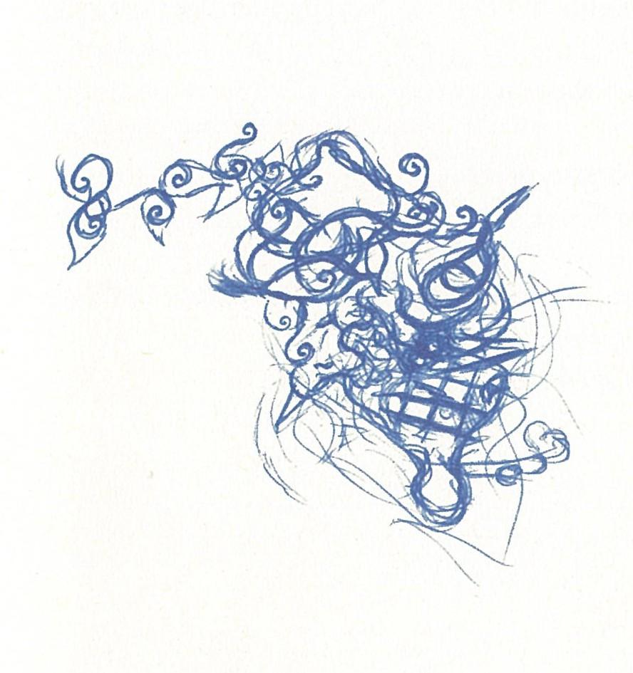 Lizzie Zeichnung am Titelblatt von Martin Trimmel